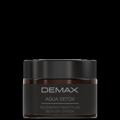 Demax Aqua Detox Regenerate Night Fluid Beta-Oxy System 50 ml
