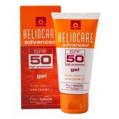 Солнцезащитный гель Хелиокеа Эдванст SPF50 для комбинированной и жирной кожи 50 мл