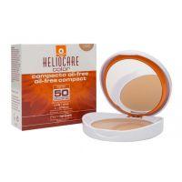 Крем-пудра компактная Хелиокеа SPF50 минеральная для сухой и нормальной кожи (тон натуральный)