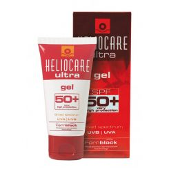 Солнцезащитный гель Хелиокеа Ультра SPF50+ для жирной и комбинированной кожи склонной к акне 50 мл