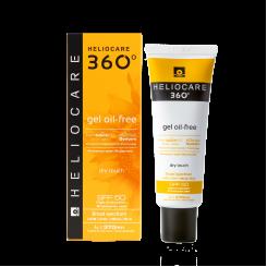 Солнцезащитный гель Хелиокеа SPF50 на водной основе для жирной и комбинированной кожи с матирующим эффектом 50 мл