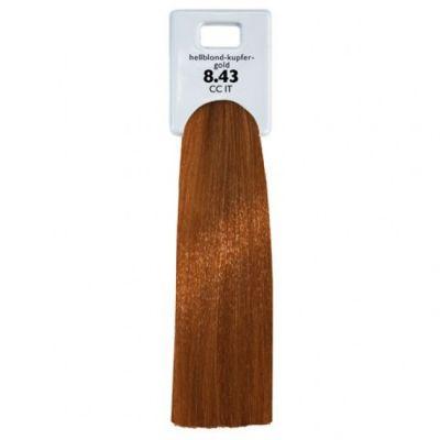 Крем-краска ALCINA Color Creme аммиачная для волос 8.43 L.BLOND-CUPRID-GOLD 60мл