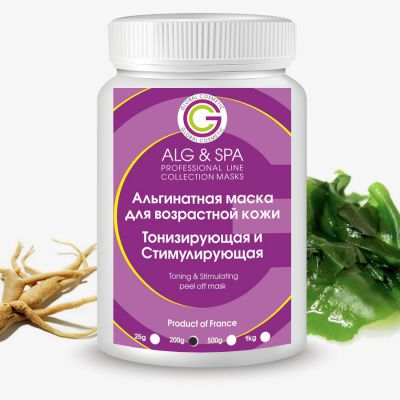 Alg & Spa Tonic and stimulating peel off mask 200 ml