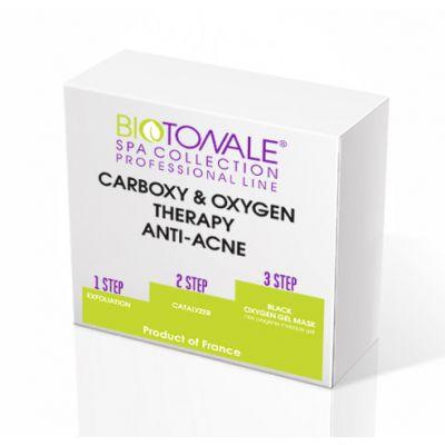Анти-акне карбокси и оксиджи терапия ANTI-ACNE CARBOXY and OXYGEN THERAPY 3 фл по 30 ml