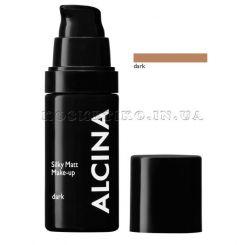 Alcina Silky Matt Make-Up Dark - 30 ml