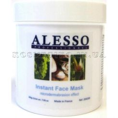 Alesso Instant Face Mask Microdermabrasion Effect - 200 g
