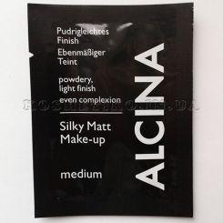 Alcina Silky Matt Make-Up Medium - 2 ml