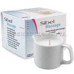 Sibel Massage Candle - восстанавливающее массажное масло-свеча