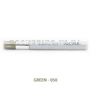 Тени для век с карандашом и аппликатором (Eye Shadow Monomatic) - GREEN - 050