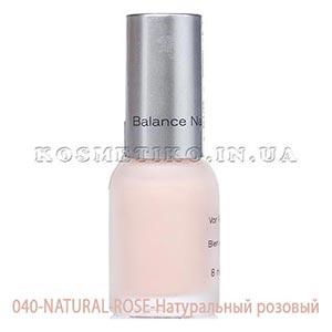Лак для ногтей (Nail-Color) 040-NATURAL-ROSE-Натуральный розовый