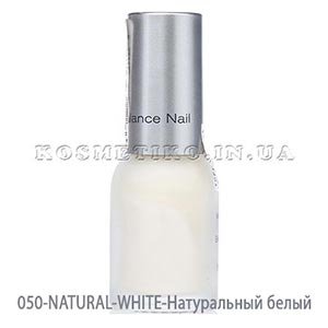 Лак для ногтей (Nail-Color) 050-NATURAL-WHITE-Натуральный белый