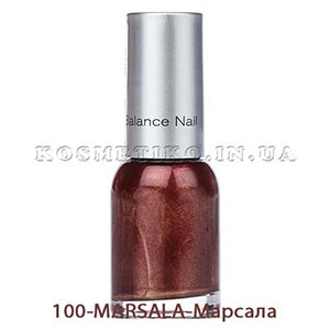 Лак для ногтей (Nail-Color) 100-MARSALA-Марсала