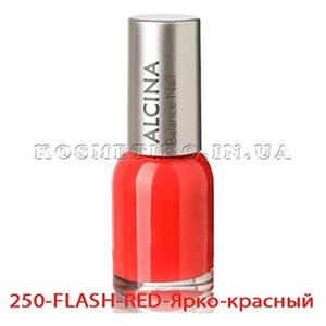 Лак для ногтей (Nail-Color) 250-FLASH-RED-Ярко-красный