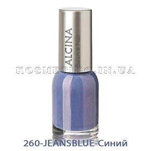 Лак для ногтей (Nail-Color) 260-JEANSBLUE-Синий