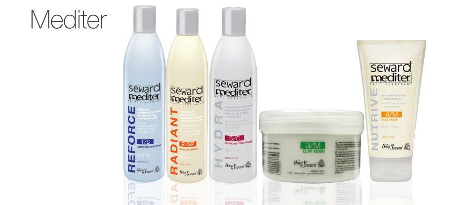 MEDITER - средства для волос с натуральными экстрактами.